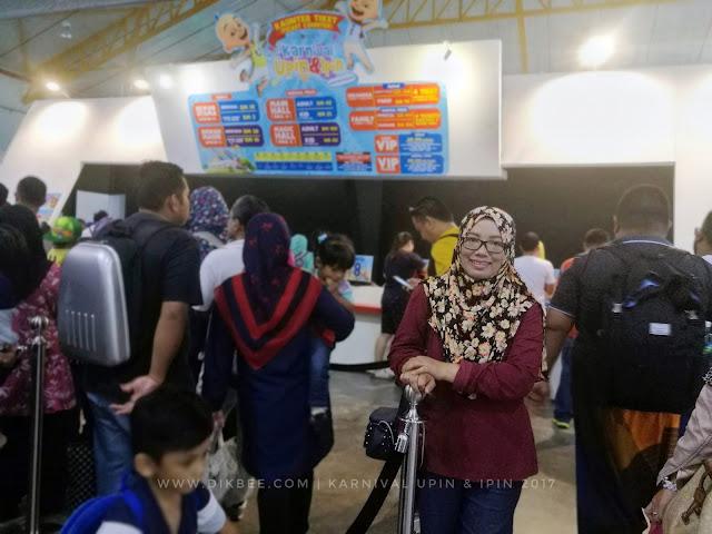 Suasana Meriah Di Karnival Upin & Ipin 2017