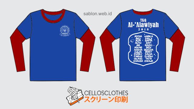 Bikin Baju Seragam Sekolah TK Bahan Cotton Combed 30s