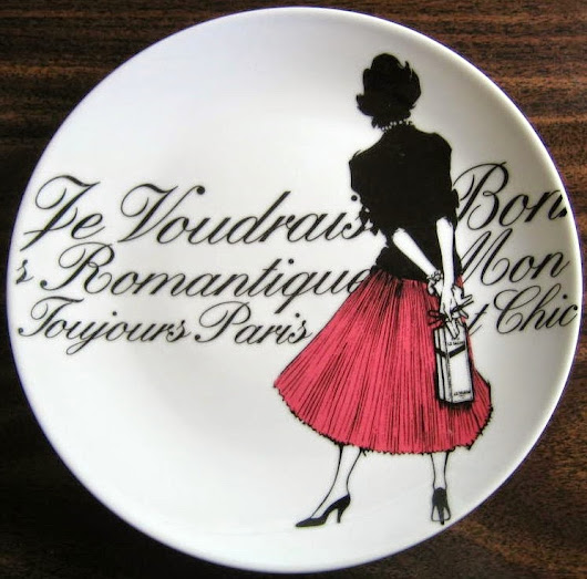 Decorative Plates for Wall: Oo La La Decorate with French or Paris Designed Decorative Plates