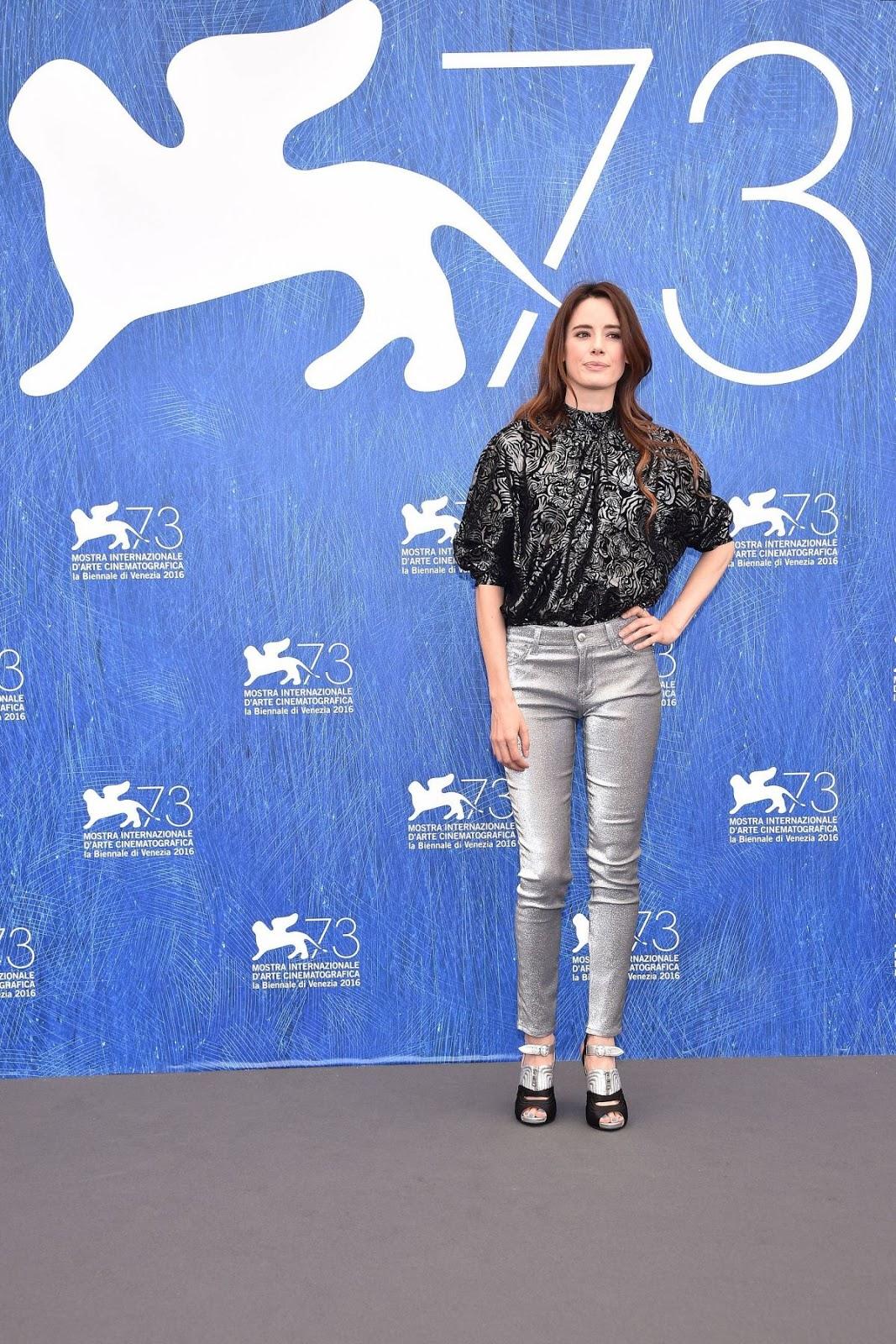 HQ Photos of Pilar Lopez De Ayala at 2016 73rd Venice Film Festival Jury Photocall in Venice