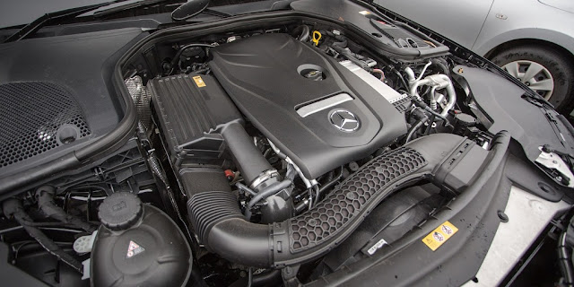 Động cơ Mercedes E200 2018 vận hành mạnh mẽ và vượt trội