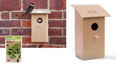 FunSlurp Foldable Birdhouse