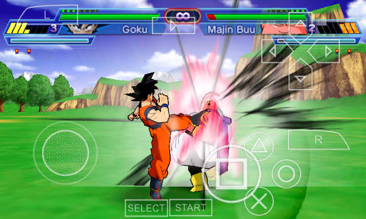 free download game ppsspp dragon ball z