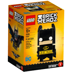Review 41585 Batman LEGO® BrickHeadz from the LEGO Batman Movie