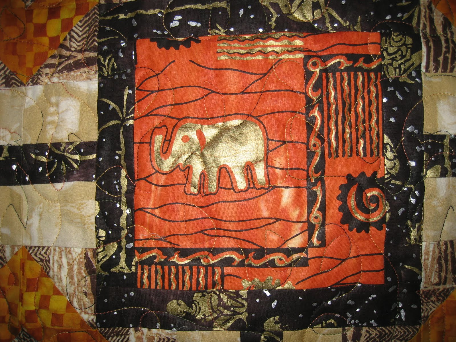 Ros The Quilter Quilting Is My Sanity African Safari
