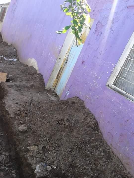 El periodist digit l un basural en la puerta del jard n for Amaru en la puerta de un jardin