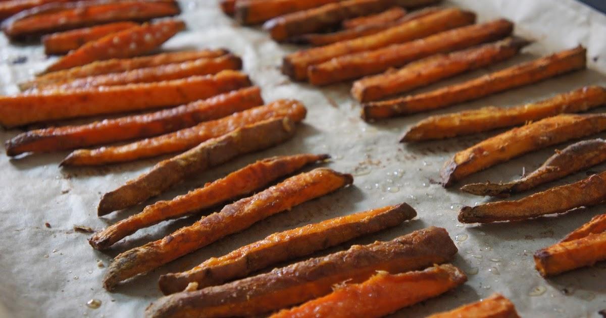 rezept s kartoffel pommes sweet potato fries ein glutenfreier blog. Black Bedroom Furniture Sets. Home Design Ideas