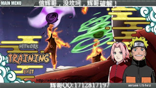 Tampilan Naruto Senki Ultimate Ninja Storm 4