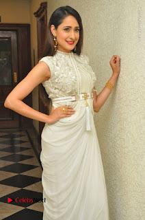 Actress Pragya Jaiswal Stills in Beautiful White Dress at turodu Audio Launch  0017.JPG