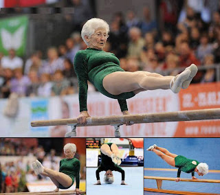 Johanna Quaas, 86-Year-Old Gymnast, Performs At Cottbus World Cup In Germany