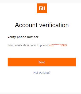 Cara Mengembalikan Akun Mi Cloud (Reset) Karena Lupa Password 4