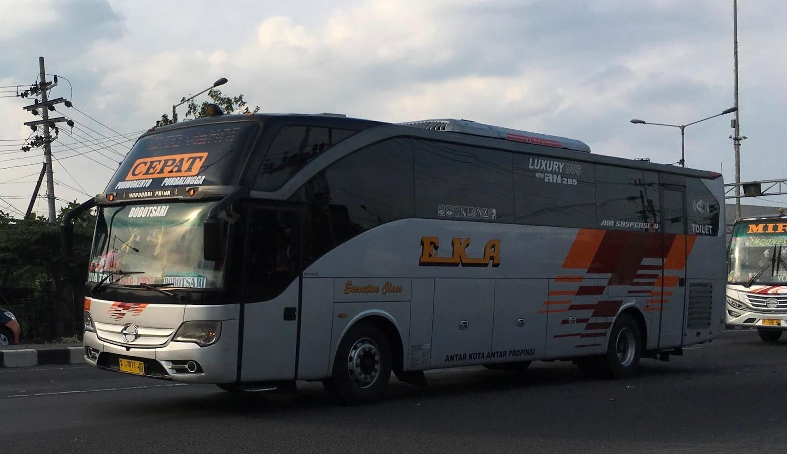 Jadwal Dan Tarif Bus Eka Cepat Terbaru Catatan Harian Qc