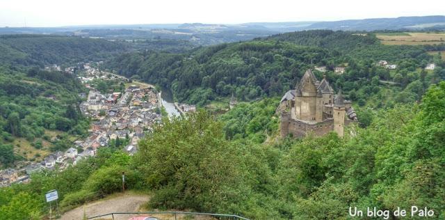 El Castillo de Vianden en Luxemburgo: cómo llegar