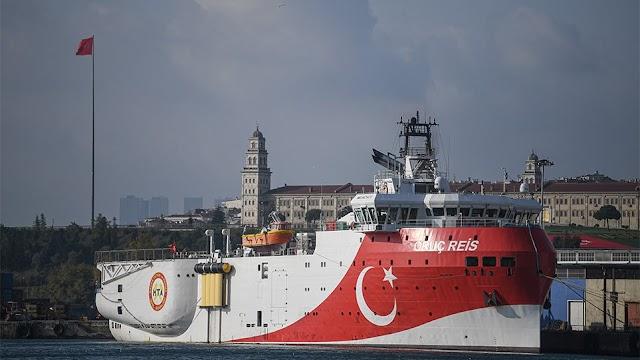 Τσαβούσογλου: Άλλους 3 μήνες στην ανατολική Μεσόγειο το «Oruc Reis»-«Casus belli» τα 12 μίλια (BINTEO)