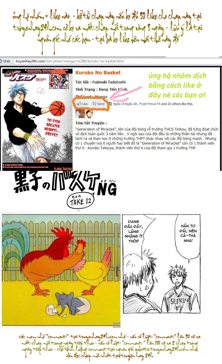 Kuroko No Basket chap 149 trang 19