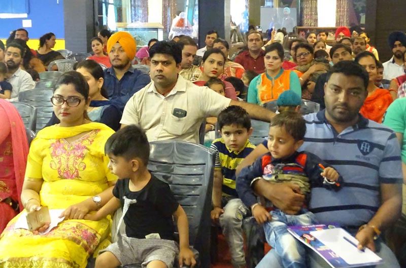 Parents during Orientation Programme at Green Land Convent School, Dugri