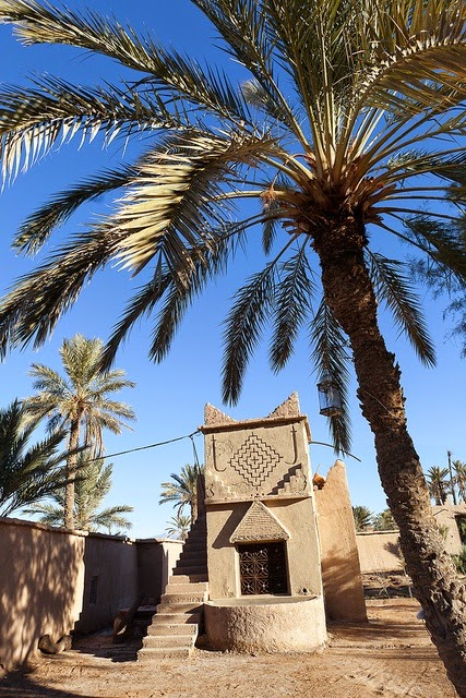 oasis, Ouled Said, Ouarzazate, Morocco. Photo: hubertguyon