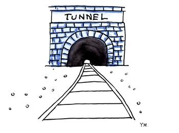 Tunnel by Yukié Matsushita