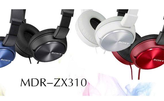 Tìm hiểu về chiếc tai nghe Sony MDR-ZX310