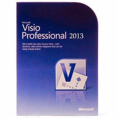 Microsoft Visio Professional 2013 Türkçe Sp1 Full