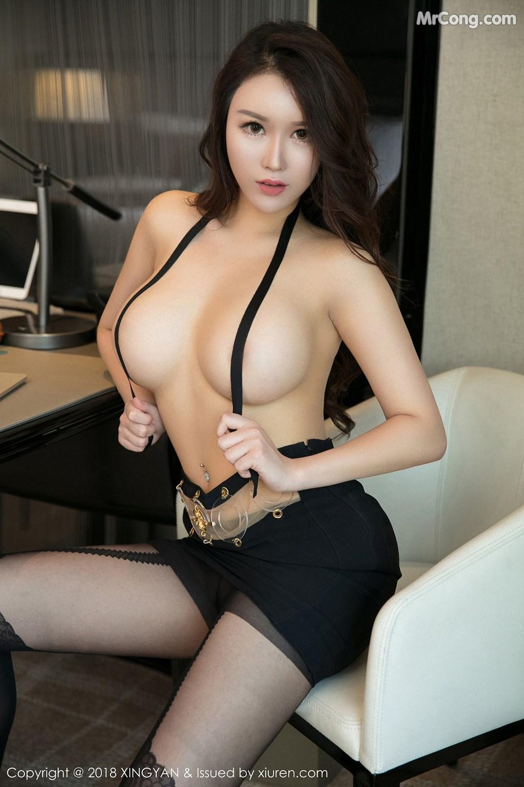 Image XingYan-Vol.078-Egg-MrCong.com-010 in post XingYan Vol.078: Người mẫu Egg_尤妮丝 (50 ảnh)