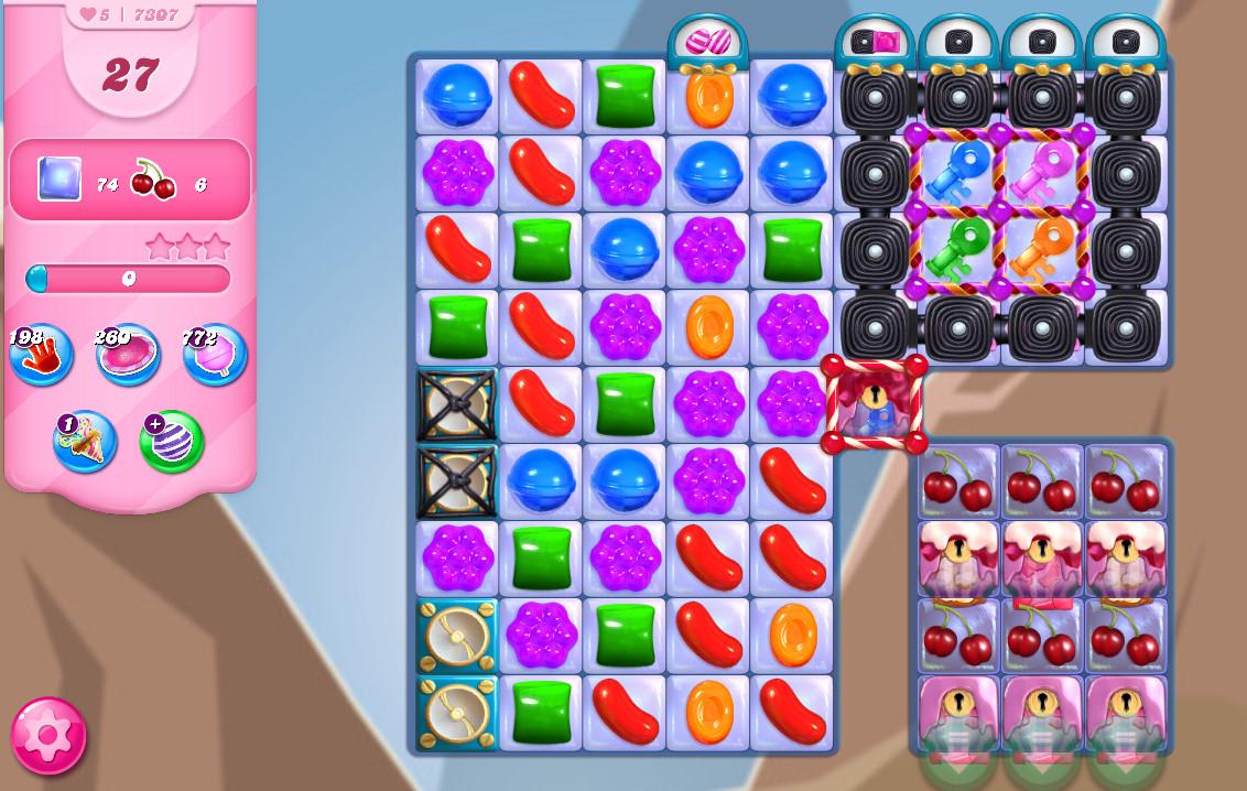 Candy Crush Saga level 7307