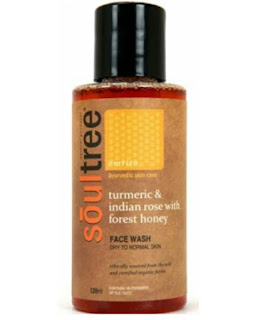 SOULTREE-AYURVEDIC-TURMERIC-AND-INDIAN-ROSE-WITH-FOREST-HONEY-FACE-WASH