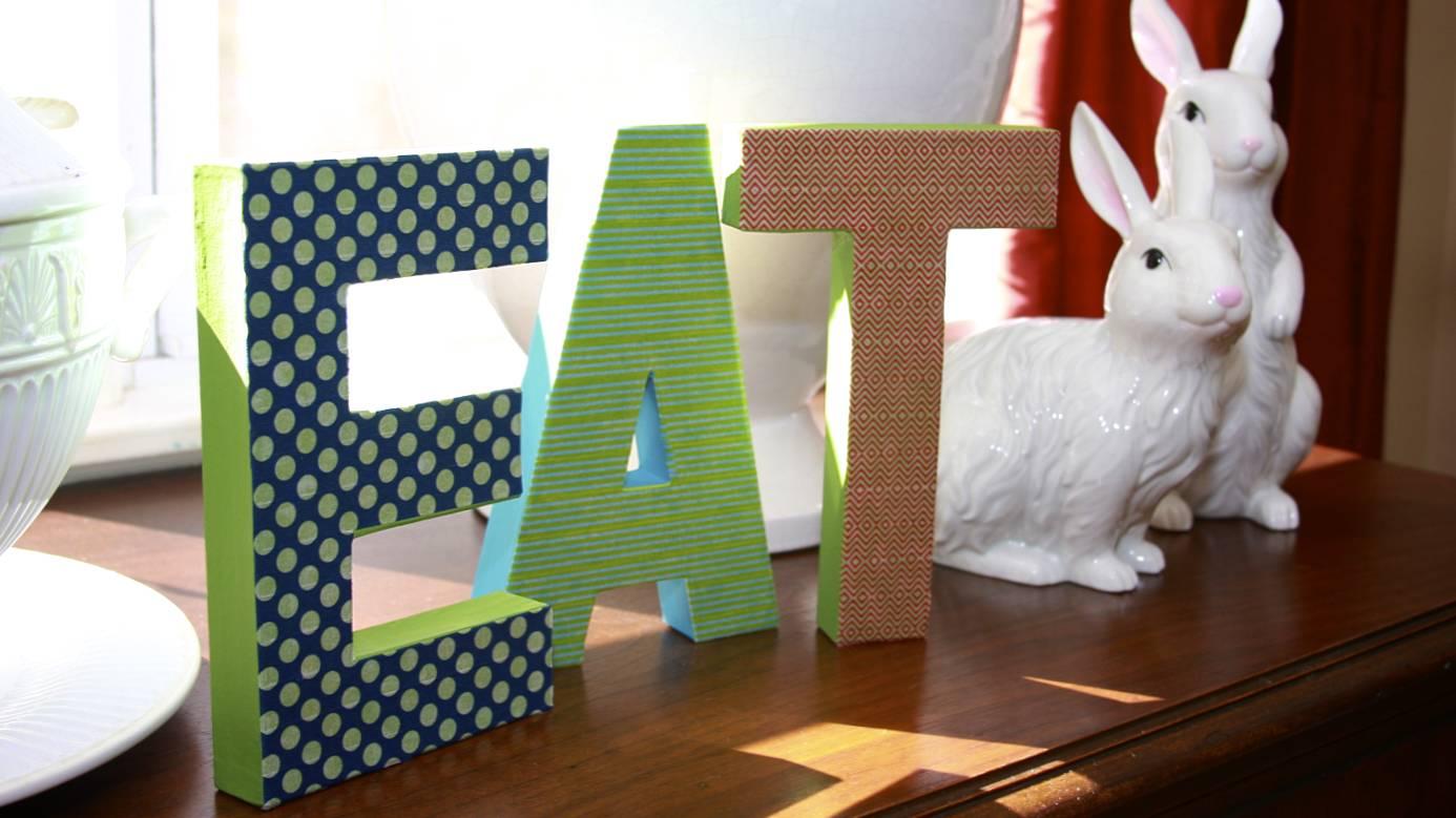 Washi Tape Letters | iloveitallwithmonikawright.com