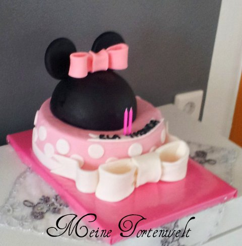 meine tortenwelt minnie maus torte. Black Bedroom Furniture Sets. Home Design Ideas