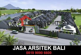 Desain Arsitek Modern Bali Untuk Bangunan Perumahan