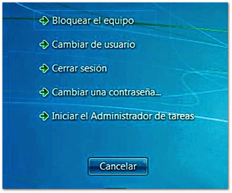 Opciones Windows