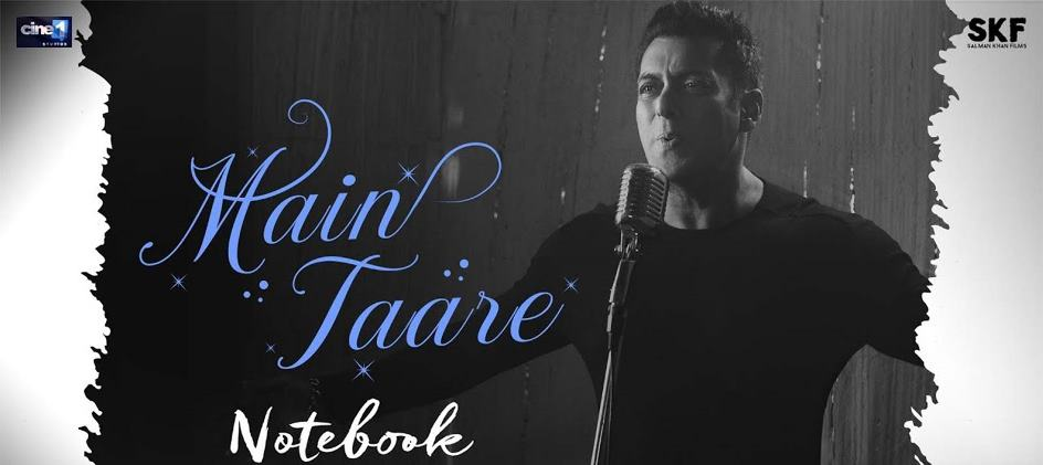 Main Taare (Notebook) Guitar Chords and Strumming Pattern at Chordsguru