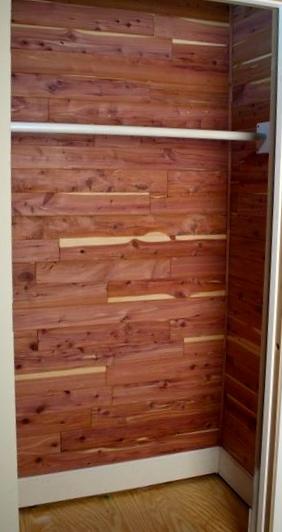 Small Cedar Closet