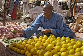 Nigerian Fruit Sellers