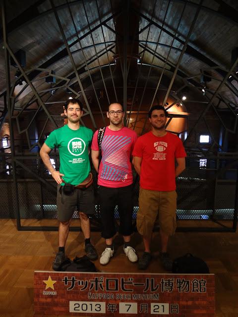 Visitando el museo de cerveza Sapporo