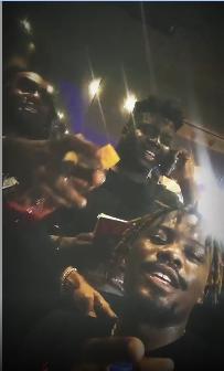 Wizkid, Tiwa Savage, Ycee And Dbanj  Spotted At Patoranking's Album Listening Party