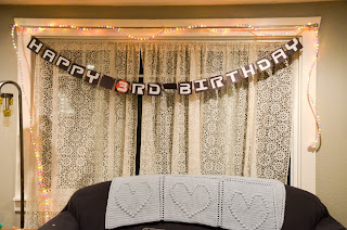 Wall-E Party Ideas Banner
