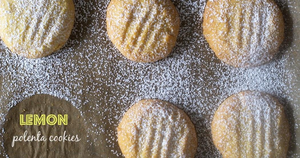 Lemon Cornmeal Cookies-Biscotti di Meliga - Savoring Italy