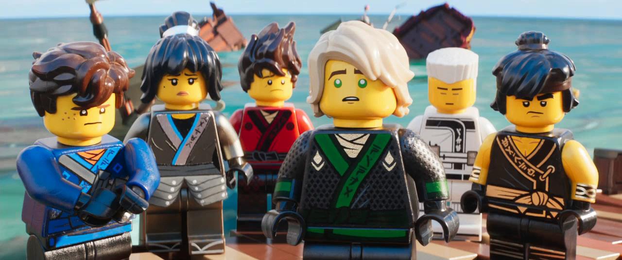 Lego Ninjago: La película (2017) BRRip 720p Latino - Ingles captura 3