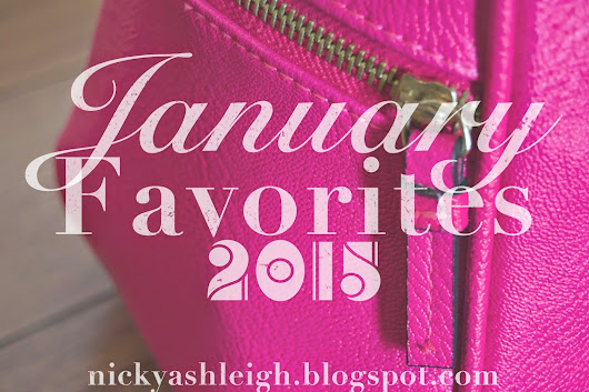 My January Favorites 2015!!