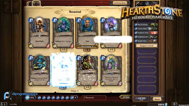 Hearthstone Heroes of Warcraft Mod Apk Unlimited Duck/Money