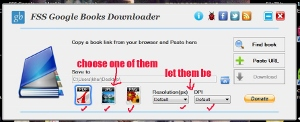 how to copy Google book preview with FSS Google Books Downloader