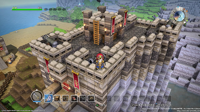 dragonquest builders Fort of rocky mountain