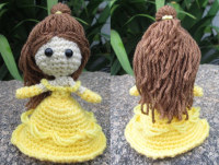 Princess Belle - Beauty and the Beast Amigurumi - FREE Crochet ... | 151x200