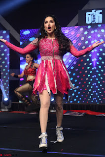 Sunny Leone Dancing on stage At Rogue Movie Audio Music Launch ~  225.JPG