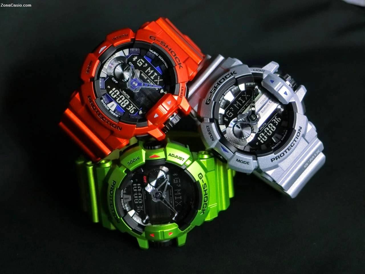 a85ca4faa ... relojes entre otros productos electrónicos, decidió en 2012 apostar por  introducir la tecnología BlueTooth en algunos de sus modelos de la gama G- Shock.