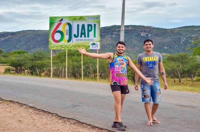 Imagem do Dia: Japienses já no clima dos festejos dos 60 anos de Emancipação Política de Japi