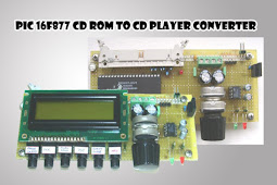 Pic 16F877 CD Rom to CD Player converter