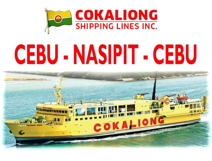 Cokaliong Cebu to Nasipit