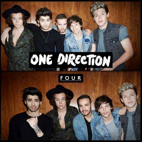 One Direction new album FOUR